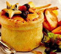 Retete vegetariene: Plăcinte cu linte şi castane