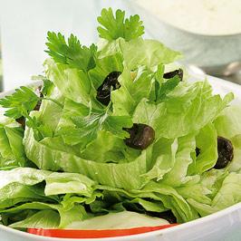 Salată cu nuci şi ciuperci