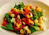 Salată de dovleac si năut