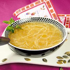 Supă cu seminţe de dovleac