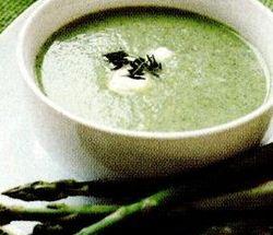 Supa-crema de sparanghel cu smantana