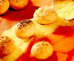 Chifle din făină de porumb cu trei arome