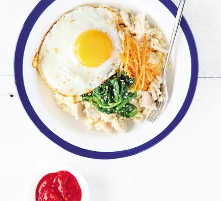 Mancare coreeana de orez
