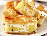 Plăcintă de cartofi cu brânză