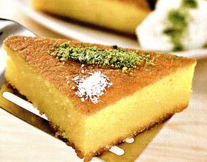 Prăjitură cu griş şi sirop