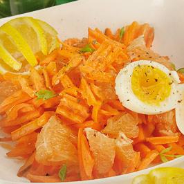 Salată de grepfrut cu morcovi