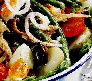 Salata de cruditati cu cartofi