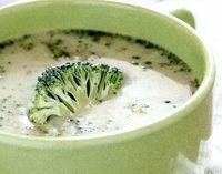 Supa de broccoli cu dovlecei