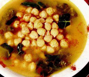Supa de naut cu praz