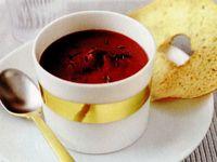 Supa de sfecla rosie
