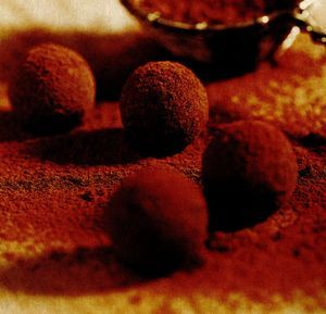 Trufe de ciocolata cu Grand Marnier