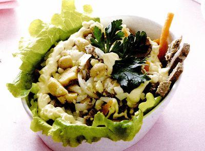 Salata din ficat de vita