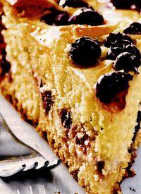 Tort cu vanilie si afine