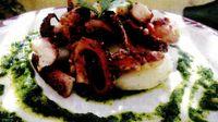 Caracatita coapta cu usturoi