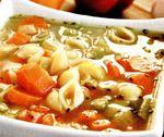 Ciorba de legume cu paste