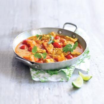 Curry de pui indian cu roşii