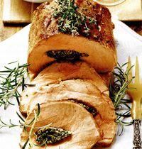 Friptură de porc cu lămâie si seminţe de fenicul