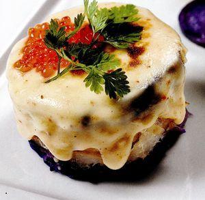 Haddock gratinat cu branza si cartofi
