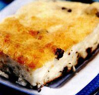 Plăcintă cu brânză si stafide