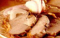Pulpă de porc îndopată