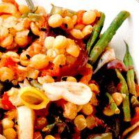 Salata cu linte galbena
