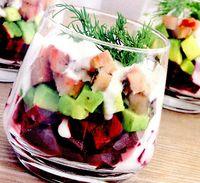 Salata de sfecla cu muschi tiganesc