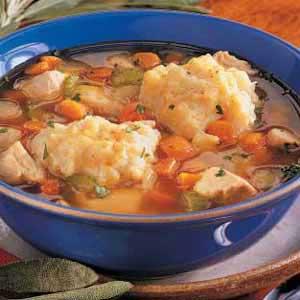 Supă cu găluşte de matzo