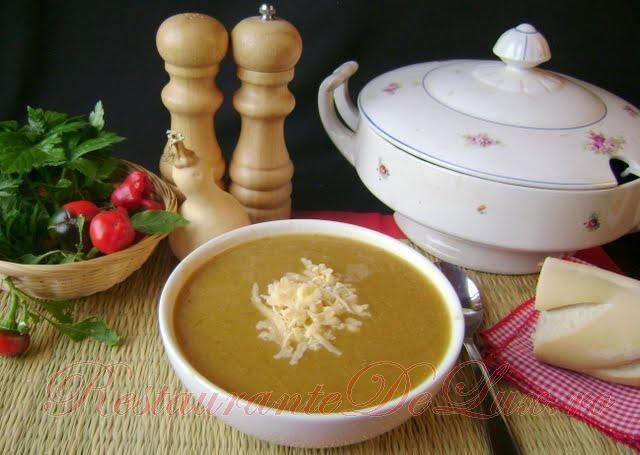 Reteta zilei: Supa crema de legume