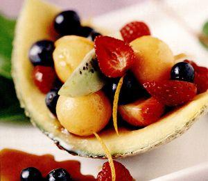 Corăbioare cu fructe glasate