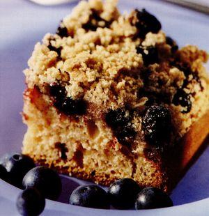 Prăjitură cu afine şi scorţişoară în crustă