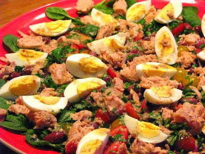 Salata Nicoise rapida