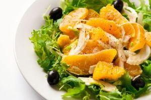 Salata cu portocale si masline