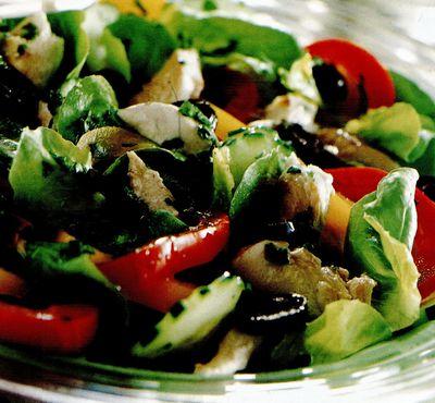 Salată cu scrumbie