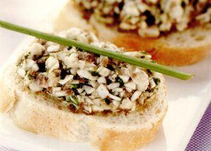 Sos de ciuperci cu pătrunjel