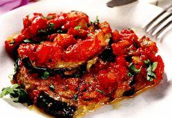 Mâncare de vinete cu usturoi