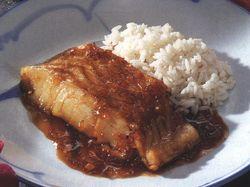 Peşte cu sos de soia