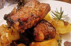 Porc cu masline