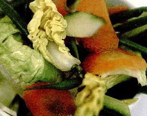 Salată crocantă simplă