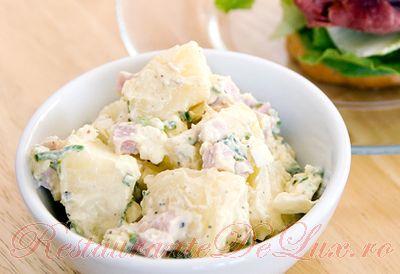 Reteta zilei: Salata de cartofi