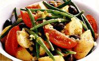 Salata de cartofi cu fasole verde