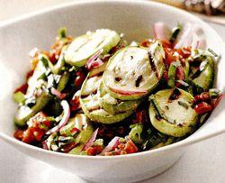 Retete de post: Salată de dovlecei
