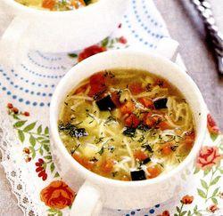 Supa de legume cu taitei