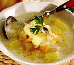 Supa de pui cu porumb