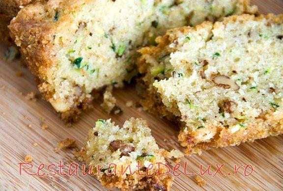 Reteta zilei: Paine cu zucchini