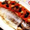 Pastrav_cu_masline_în_sos_de_rosii