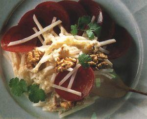 Salata de telina cu sfecla rosie