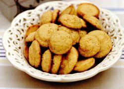 Biscuiţi cu mălai şi portocale