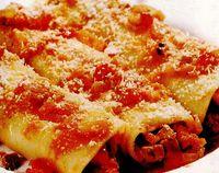 Cannelloni cu ficatei de pui si ardei gras