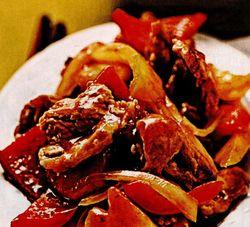 Retete culinare: Porc dulce-acrisor