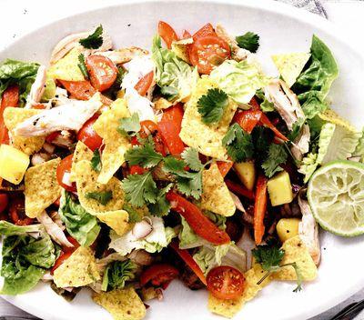 Pui condimentat cu salată de mango